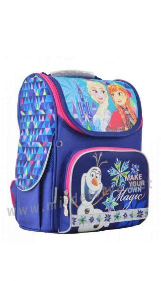 Каркасный ранец 1 Вересня H-11 Frozen blue для девочек