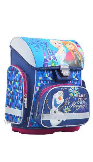 Каркасный рюкзак для учеников младших классов 1 Вересня H-26 Frozen