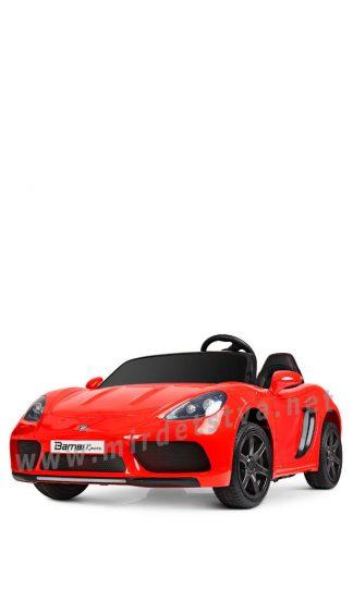 Красный Porsche Bambi M 4055ALS-3 електромобиль