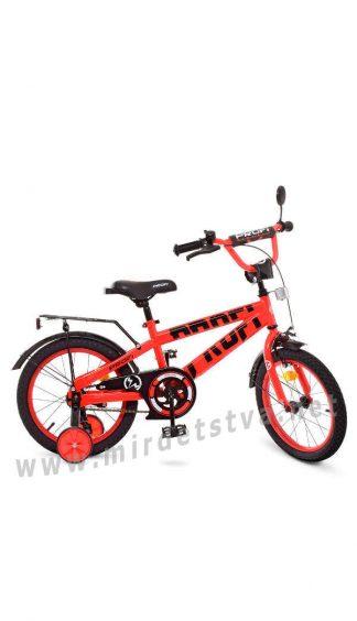 Красный велосипед для детей Profi 16д. Т16171