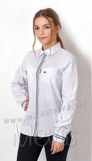 Подростковая хлопковая блуза Mevis 2652-01