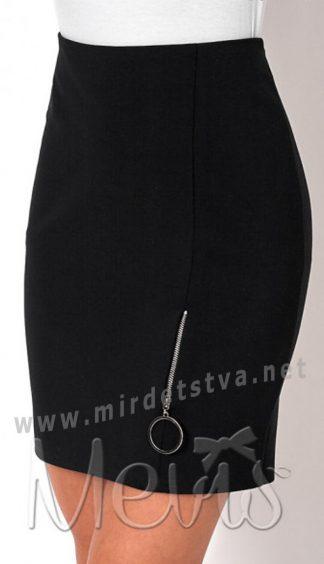 Прямая школьная юбка на подростка Mevis 2697-02