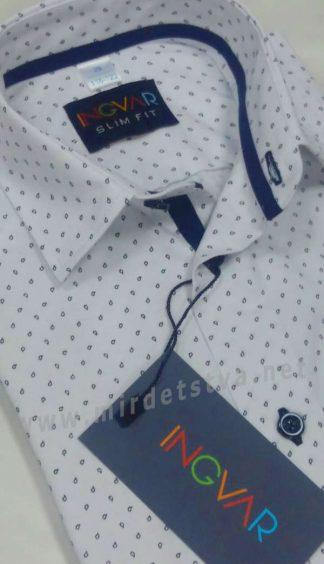 Рубашка с коротким рукавом INGVAR slim fit KR 2011