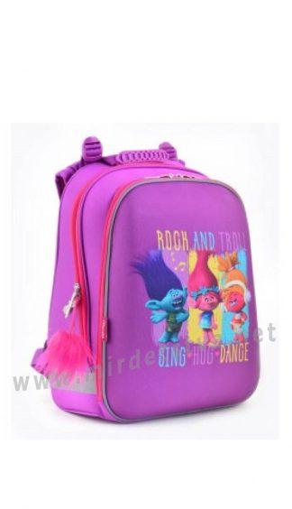 Рюкзак школьный для девочки 1 Вересня H-12 Trolls