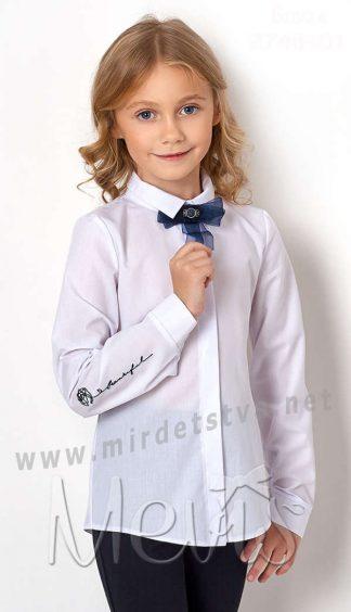 Школьная рубашка для девочек Mevis 2748-01