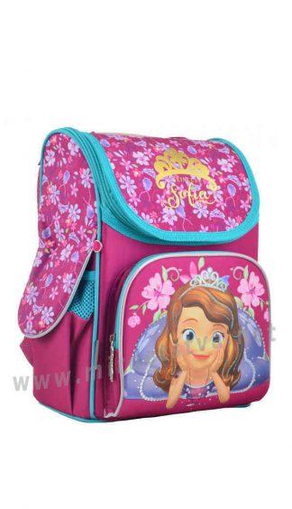 Школьный каркасный рюкзак 1 Вересня H-11 Sofia Rose