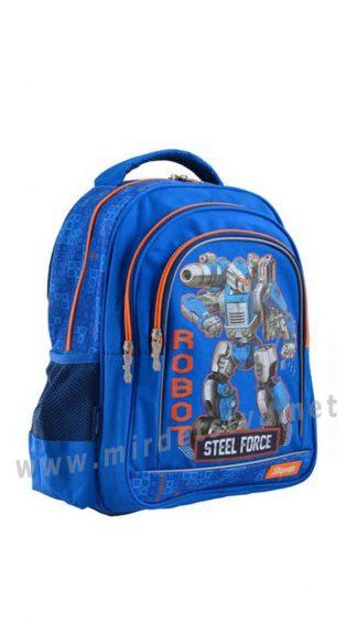 Школьный рюкзак для мальчика 1 Вересня S-22 Steel Force
