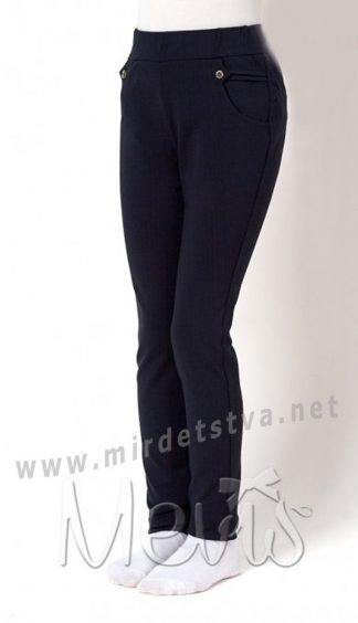 Синие лосины для девочек Mevis 2746-01