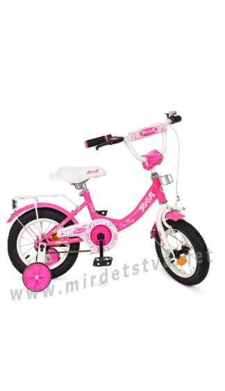 Велосипед детский для девочек Profi 12д. Y1213