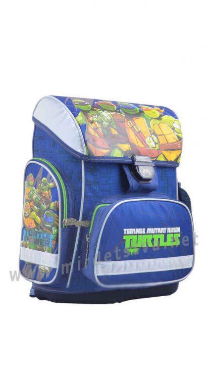 Вместительный ранец для мальчика 1 Вересня H-26 Turtles