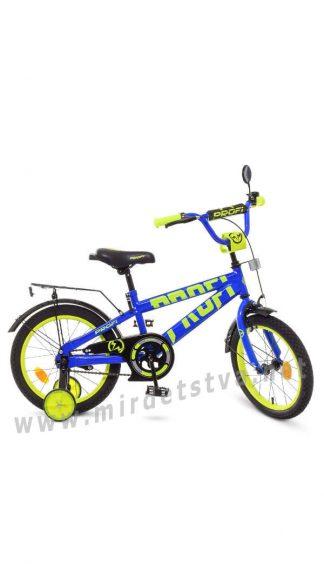Яркий двухколесный велосипед Profi 16д. Т16175