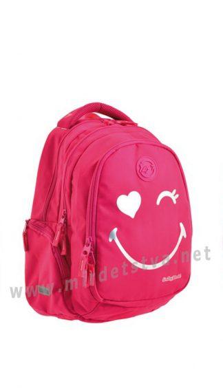 Яркий ранец для девочек Yes T-22 Step one Smiley world