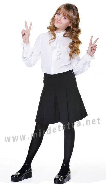 Юбка шорты для девочки в школу Lukas 6214
