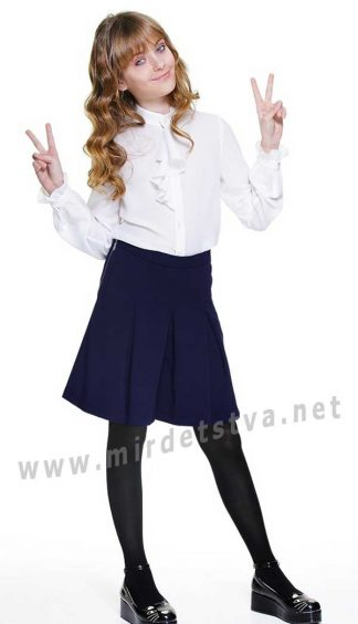 Юбка-шорты для школы девочке Lukas 6214