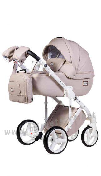 Детская коляска Adamex Luciano 11S 100% кожа