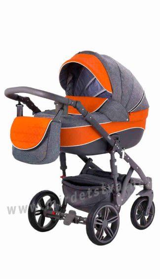 Детская универсальная коляска 2в1 Adamex Prince X-12