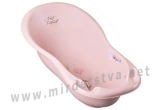 Детская ванна Tega Forest Fairytale FF-005 102см 107 light pink
