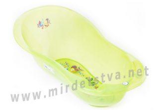 Детская ванночка Tega Aqua AQ-005 LUX 102 см с термометром 116 green