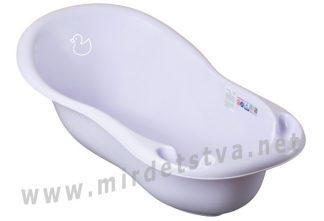 Детская ванночка Tega Duck DK-005 102см 133 light violet