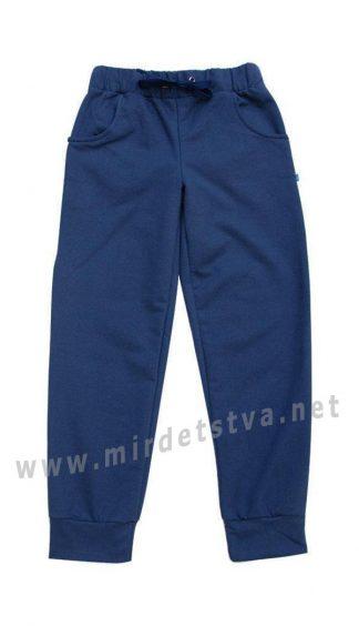 Детские трикотажные спортивные штаны из хлопка Minikin 1517807
