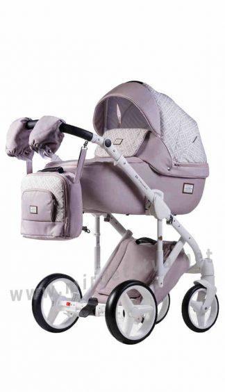 Коляска для малышей 2в1 Adamex Luciano jeans Q219