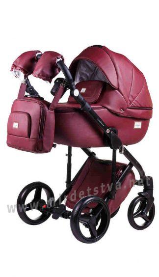 Коляска для малышей Adamex Luciano Q105 100% кожа