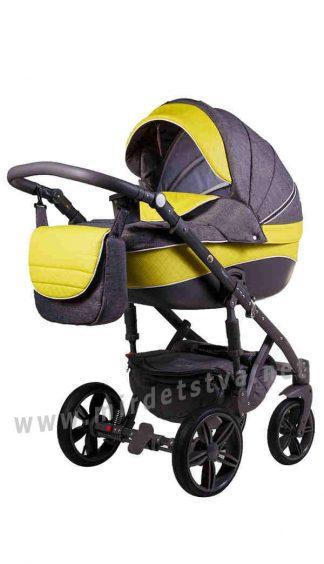 Коляска для новорожденных 2в1 Adamex Prince X-14