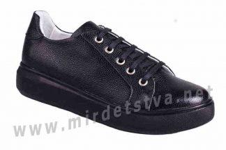 Красивые черные туфли ортопедия для девушки 4Rest Orto 18-206