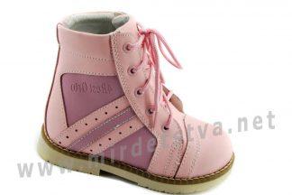 Красивые ортопедические ботинки на шнурках для девочки 4Rest Orto 03-406