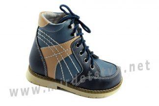 Ортопедические ботинки на шнурках мальчику 4Rest Orto 03-405