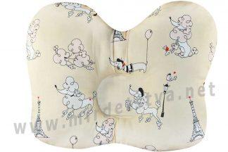 Ортопедическая подушка для новорожденных Бабочка ОП-02 арт.j2302