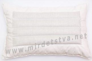 Подушка ортопедическая из гречихи 70х50см
