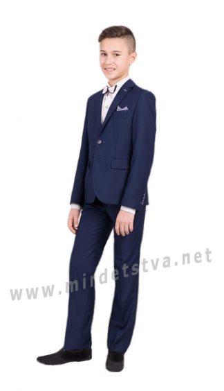 Школьные брюки на мальчика Новая форма 09.4 синие