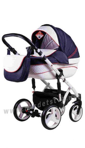 Современная детская коляска 2в1 Adamex Prince X-8