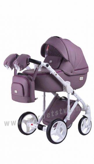 Универсальная коляска 2в1 Adamex Luciano Q115 кожа