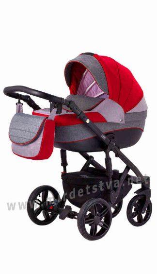 Универсальная коляска 2в1 Adamex Prince TIP 24-C