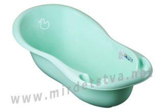 Ванна детская Tega Duck DK-005 102см 131 light green