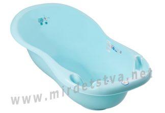 Ванночка Tega Dog&Cat PK-005 102см LUX слив и термометр 101 light blue