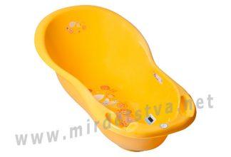 Ванночка Tega Folk FL-005 102см с термометром 113 yellow