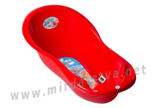 Ванночка для купания Tega Cars CS-005 102 см 121 red