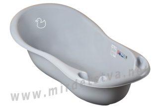 Ванночка для купания Tega Duck DK-005 102см 122 light gray