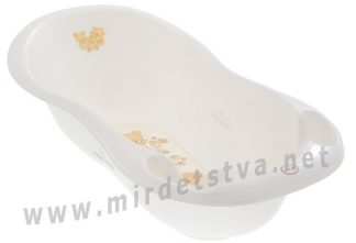 Ванночка для купания Tega Teddy Bear MS-005 LUX 102см 118 white pearl