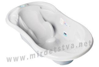 Ванночка для купания анатомическая Tega TG-011 106 gray