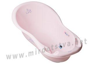 Ванночка для малыша Tega Little Bunnies KR-005 102см 104 light pink