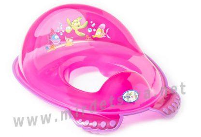 Детская накладка на унитаз Tega Aqua AQ-008 117 pink