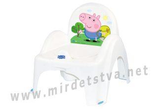 Детский горшок кресло Tega Peppa Pig PO-068 103-N white-blue