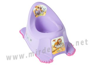 Детский горшок с музыкой Tega Safari PO-045 with music 128 dark violet