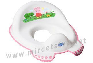 Детское сиденье на унитаз Tega Peppa Pig PP-002 103-R white-pink