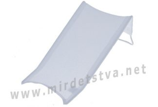 Горка для малыша Tega Thick Frotte (махра) DM-015 162 gray