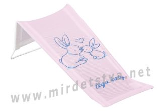 Горка сетка для купания Tega Little Bunnies KR-026 104 light pink